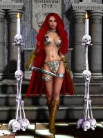 Red Sonja She-Devil with a Sword by Terrymcg