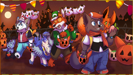 [CO] Pokemon Trick Or Treating by TheCynicalHound