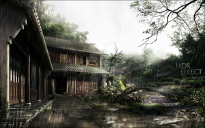 Japan with HDR Effect by Jay1pl