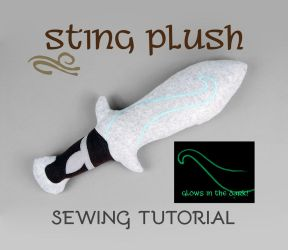 Sewing Tutorial - The Hobbit Sting Plush Sword by SewDesuNe
