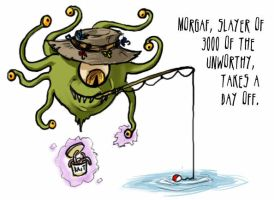 Beholder Fishing?? by Relotixke