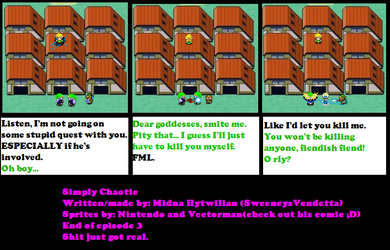 Simply Chaotic Ep 3: Chp 2 by SweeneysVendetta