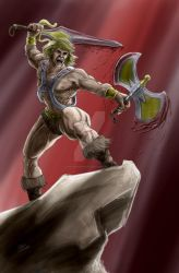 He Man The Harvester of Sorrows by TheArtofScott
