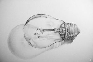 sketchbook bulb by YourCottonmouth