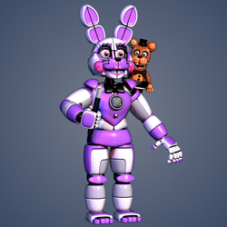 (Improved) Funtime Bonnie by NeeTroo