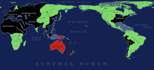 Blood and Flame - Pacific Map by ElectricSquid7
