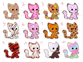 Kitty Cookies Adopts (Now 2 pts) closed by Tygerlanders-adopts