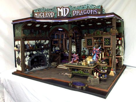 2015 Witch Cottage Dragons by MacLeodDragons