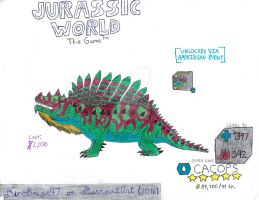 Jurassic World: The Game - Cacops! by DinoBrian47