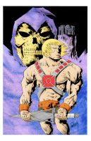 He-Man Color by drawhard