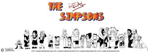 The REAL Simpsons by Yagaito