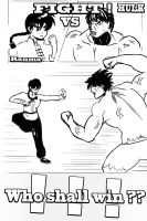 Ranma VS HULK - Who'll win ? by IIIXandaP