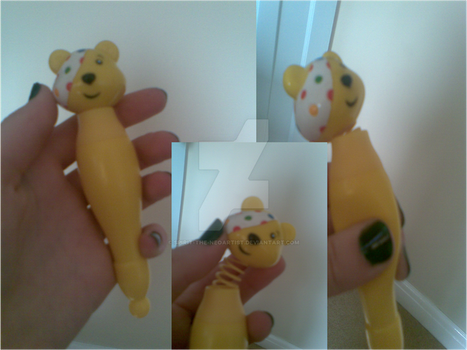 Pudsey pen by spirit-the-neoartist