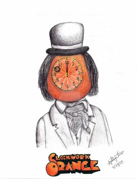 A Clockwork Orange | Drawn 7/29/09