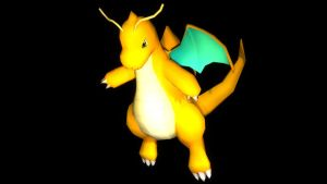 Classic Dragonite Sprite Re-Created by ThatCharizardGuy