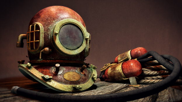 Divers Helmet by zarpex