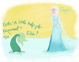 Frozen Fish by mustachecat11
