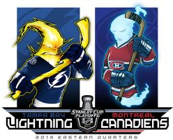 2014 NHL Playoffs Rd 1 Bolts vs. Habs by Epoole88