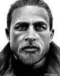 Charlie Hunnam by Doctor-Pencil