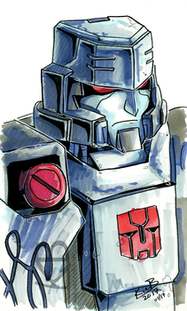Tf Megatron Portrait by phantos
