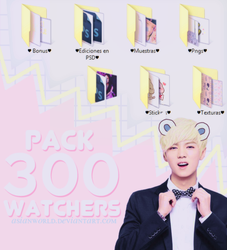 |Pack 300 watchers| by AsianWorld