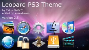 Leopard PS3 Theme by TidStrife