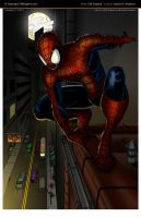 Spiderman Colored by CliffEngland