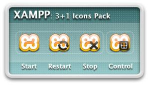 XAMPP Actions Icons 2.1 by xande06