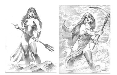 women and the sea by PaulAbrams