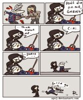 The Witcher 3, doodles 304 by Ayej
