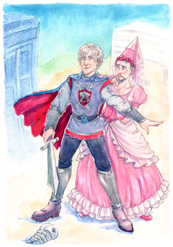 Princess and the Knight by Miss-Alex-Aphey