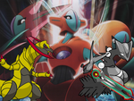 Prime vs. Deoxys by MarioMinecraftMix