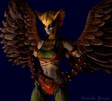 Hawkgirl Injustice by MsLiang
