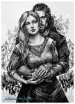 ~Uhtred and Aethelflaed~ by JustAnoR