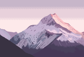 Just another mountain by 8bitnoob