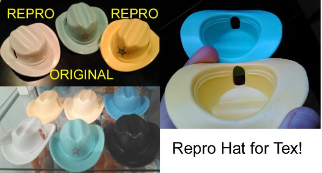 Repro Hat for big brother Tex my little pony by Hatsetsut