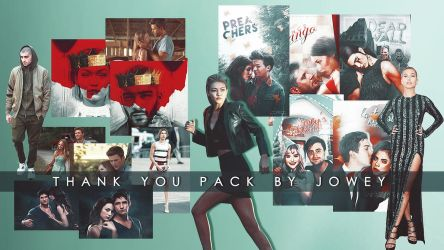 Thank You Pack By Jowey by xjowey02