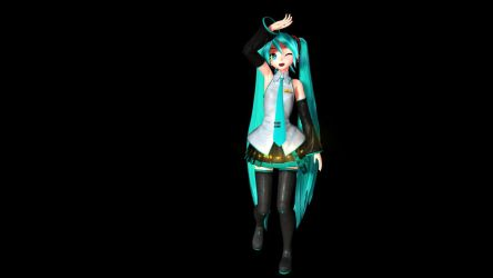 MMD Sekiranun Graffiti MIKU HD [Hologram Ready] by Mikummdvocaloid