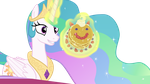 Princess Celestia Offers Pancakes - Vector by Etherium-Apex
