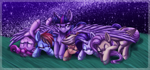 Down the Path Togather by InuHoshi-to-DarkPen