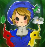 Pikmin Link by FruitCrepe