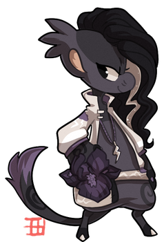 #586 Floral BB - Iris before the storm by griffsnuff