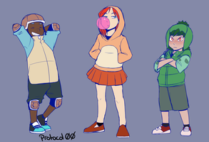 Have some gijinkas by Protocol00