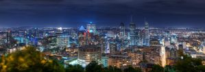Montreal Skyline by aolifu