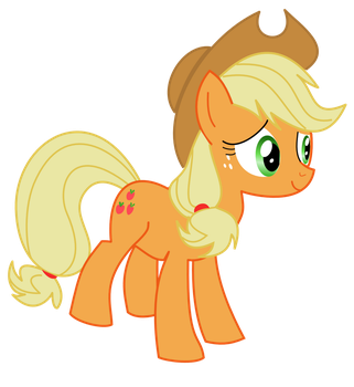 Just Applejack by Xyzzizzle