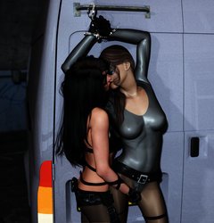 Rook and Fightgirl - Clearing the Air by fightgirl2004