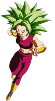 Kefla Super Saiyan by ChronoFz