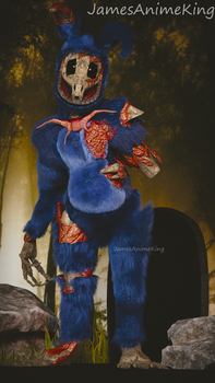 Fnaf Withered Bonnie: A few Cut Strings. by jamesanimeking
