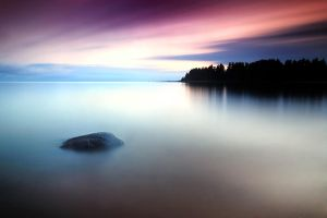 Stone with long exposure by DTokar