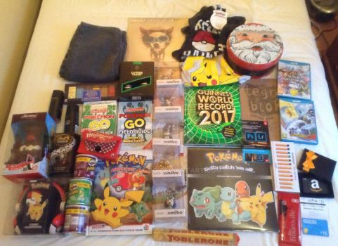 What I got for Christmas 2016 by SodaDog